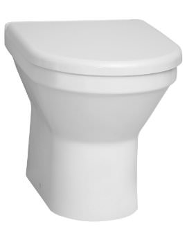 Vitra S50 Back-To-Wall WC Pan With Soft Close Toilet Seat
