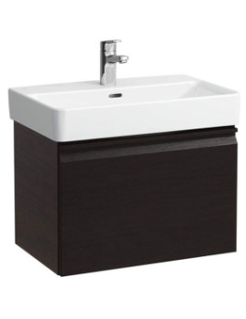 Laufen Pro 510mm Single Drawer Wenge Vanity Unit With 1 Interior Drawer