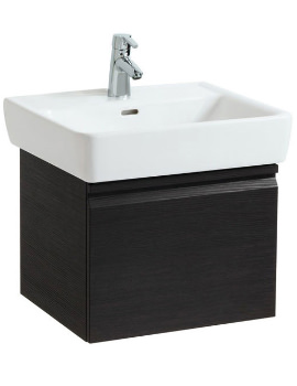 Laufen Pro 570mm Single Drawer Wenge Vanity Unit With 1 Interior Drawer