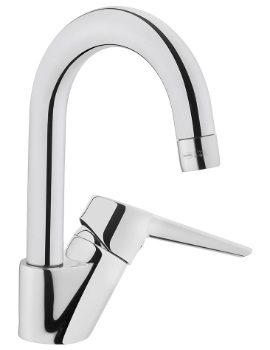 VitrA Solid S Deck mounted Swivel Basin Mixer Tap