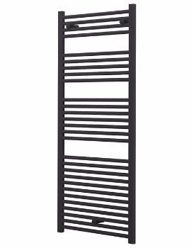 Essential Capricorn 500 x 1147mm Anthracite Grey Towel Warmer