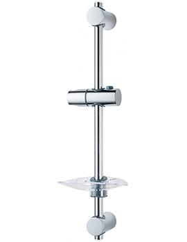 Triton Lewis Shower Riser Rail Chrome
