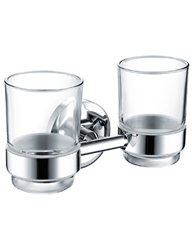 Bristan Solo Double Tumbler And Holder