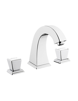 VitrA Elegance Chrome 3 Hole Deck Mounted Basin Mixer Tap