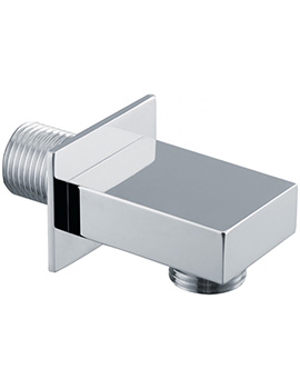 Triton Square Edge Shower Wall Outlet