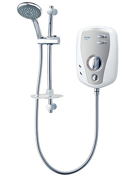 Triton T100xr Electric Shower 10.5 KW White-Chrome