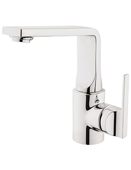 VitrA Suit L Chrome Deck Mounted Basin Mixer Tap