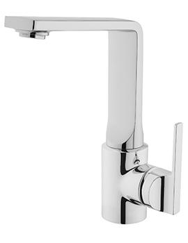 VitrA Suit L Swivel Spout Basin Mixer Tap Chrome