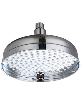Triton Traditional Rose Fixed Shower Head