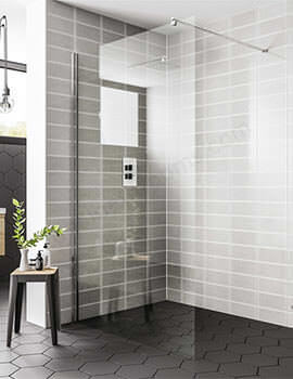 Essential Spring 1200 x 2000mm Wetroom Panel