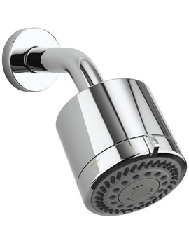 Crosswater Reflex Wall Mounted 6 Mode Showerhead With Arm