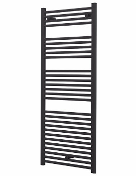 Essential Standard 600 x 1703mm Anthracite Grey Towel Warmer