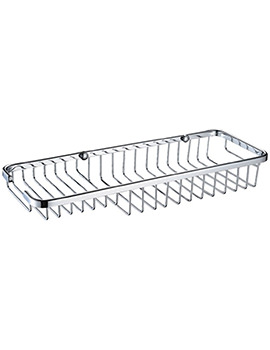 Bristan Medium Wall Fixed Wire Basket