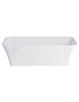 Clearwater Palermo Petite ClearStone Freestanding Bath 1524 x 750mm
