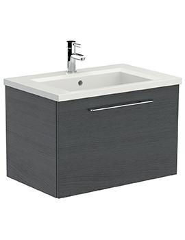 Saneux Austen 710mm Alaska Soft Close Drawer Unit With X ACT Washbasin