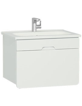 VitrA D-Light Wall Hung Vanity Unit With Basin