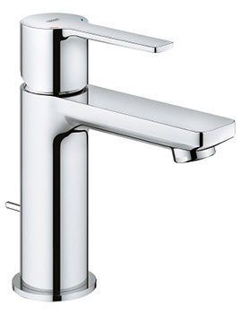 Grohe Lineare XS-Size 1-2 Inch Basin Mixer Tap With Pop-Up Waste