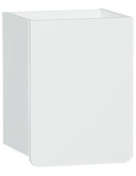 VitrA D-light 360 x 300mm Matte White Right Handed Side Unit