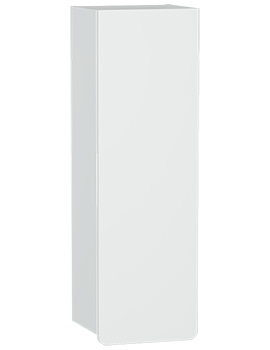 VitrA D-light 360 x 1135mm Matte White Right Handed Tall Unit