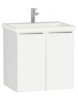 VitrA Ecora Wall Mounted 2 Door Unit With Washbasin