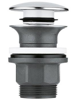 Grohe Push Open Plug Waste Set