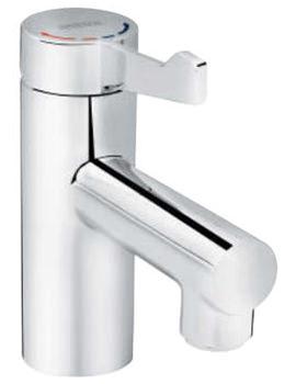 Bristan Solo Healthcare Basin Mixer Tap With Short Lever Handle