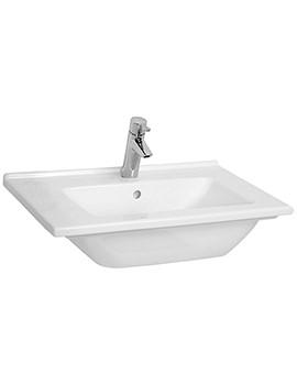 VitrA S50 Single Tap Hole 600mm Vanity Basin