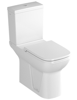 VitrA S20 750mm Comfort Height Close Coupled Toilet