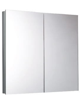 Saneux Ice 750mm Double Door Mirror Cabinet