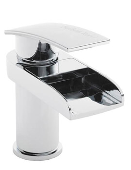 Hudson Reed Rhyme Mono Basin Mixer Tap Chrome With Waste