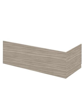 Hudson Reed 1700mm Driftwood Bath Front Panel With Plinth