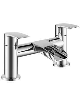 Mayfair Glide Deck Mounted Open Spout Bath Filer Tap