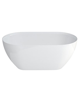 Clearwater Formoso Petite ClearStone Freestanding Bath 1500 x 800mm
