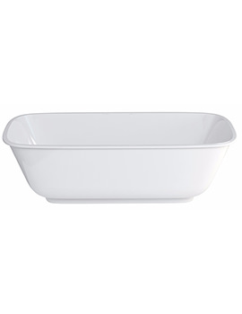 Clearwater Nuvola Clearstone Freestanding Bath 1700 x 750mm