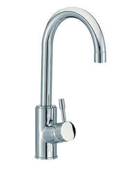 Mayfair Series Side Lever Freestanding Mono Basin Mixer Tap Chrome