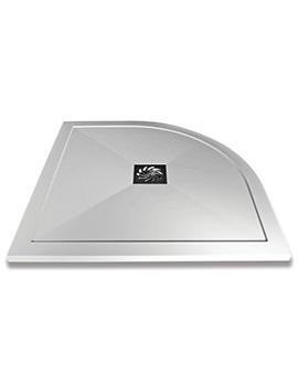 Saneux H25 1200 x 800mm Stone Resin Quadrant Shower Tray