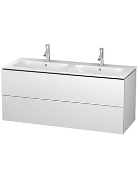 Duravit L-Cube 1290mm 2 drawers Vanity Unit With Me By Starck Basin