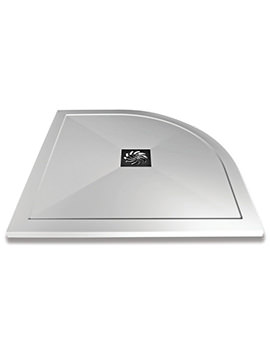 Saneux H25 1000 x 800mm Stone Resin Quadrant Shower Tray
