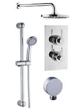 Mayfair Amazon Concealed Valve With Diverter Shower Arm And Slide Rail Kit