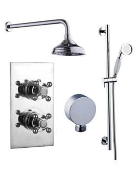 Mayfair Oxford Traditional Concealed Valve With Diverter And Shower Kit