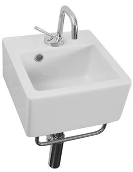 Saneux Quadro 300mm Wall Mounted Washbasin