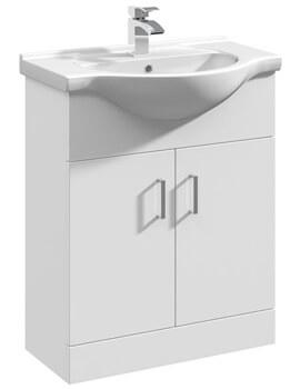 Lauren Mayford 650mm Floor Standing Cabinet With Basin 2