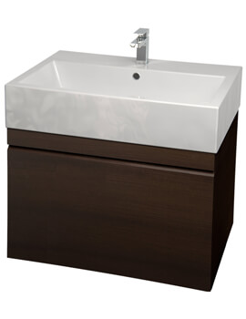 Saneux Matteo 600mm Handleless Drawer Unit With Washbasin