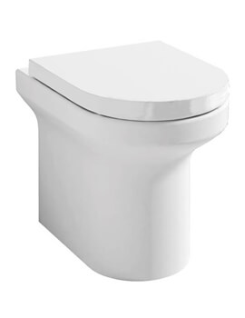 Pura Alma Rimless Back To Wall WC Pan 520mm