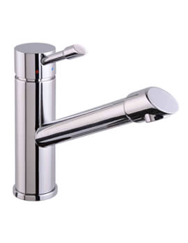Mayfair Dune Chrome Kitchen Mono Sink Mixer Tap