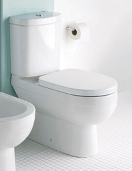 Silverdale Richmond Close Coupled Toilet With Soft Close Seat