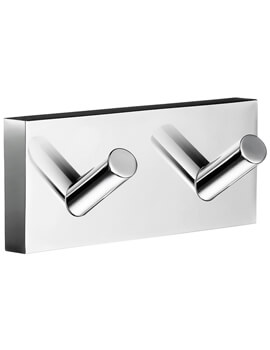 Smedbo House Double Towel Hook