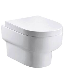 Pura Duro Rimless Wall Hung WC Pan 500mm