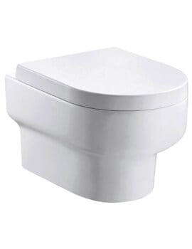 Pura Duro Wall Hung WC Pan 500mm