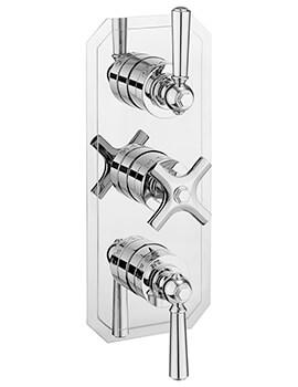Crosswater Waldorf Lever Slimline 3000 Thermostatic Shower Valve